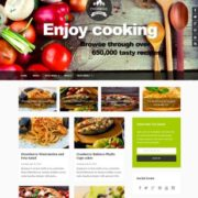 Foodmag Responsive Blogger Templates