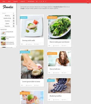 health template for blogger free download  Health Blogger Templates 2018 Free Download