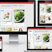 Foodie Responsive Blogger Template