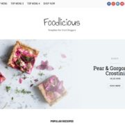 Foodlicious Blogger Templates