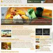Foodness Blogger Templates