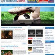 FootballZone Responsive Blogger Templates