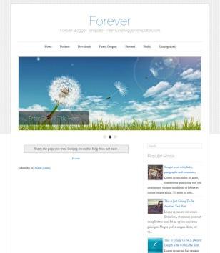 Forever Blogger Templates