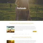 Fortunato Blogger Templates