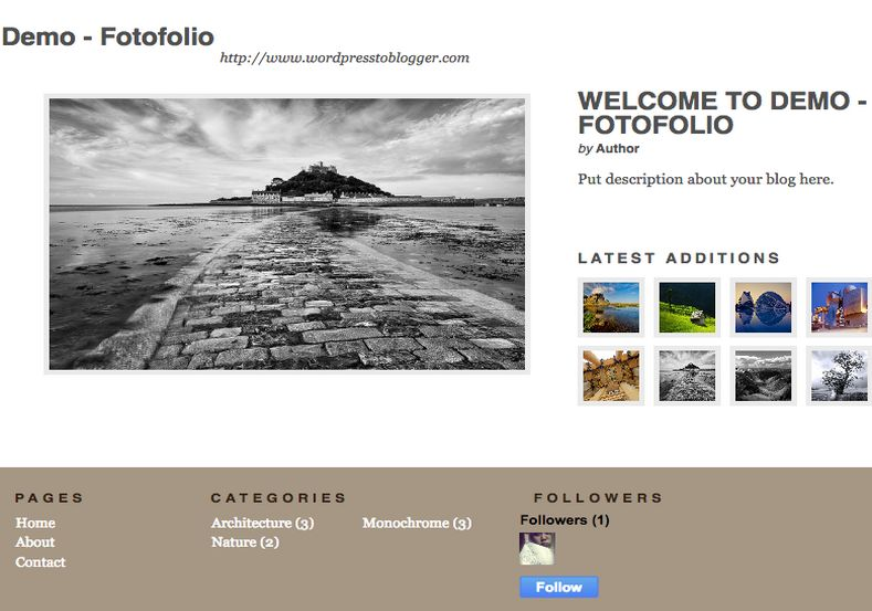 Fotofolio blogger template 2014 free download for Blogger templates free download 2012