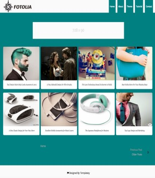 Fotolia Blogger Templates