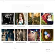 Fotolia Photography Blogger Templates