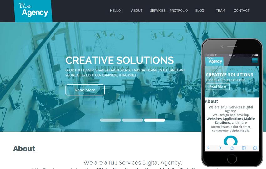 Creative HTML5 Agency Templates