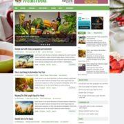 FreshFood Blogger Templates