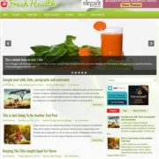 FreshHealth Blogger Templates