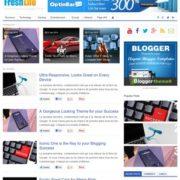 FreshLife Blogger Templates