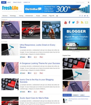 Freshlife – responsive wordpress blog/magazine theme + download.