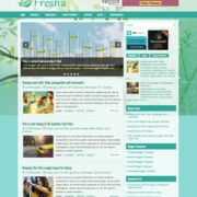 Fresha Blogger Templates