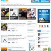Freshlife Responsive V3 Blogger Templates