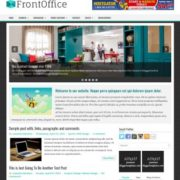 FrontOffice Blogger Templates