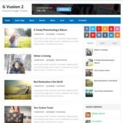 G Vusion 2 Blogger Templates