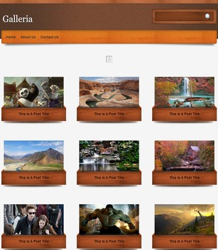 Galleria Blogger Templates