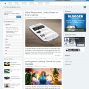 Game Shift Responsive Blogger Templates