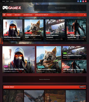 Game-X Blogger Templates