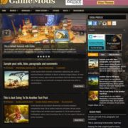 GameMods Blogger Templates
