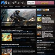 GamePlanet Blogger Templates