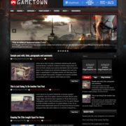 GameTown Blogger Templates