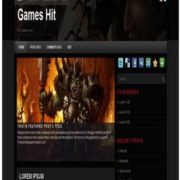 Games Hit Blogger Templates