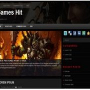 Games Hit blogger template