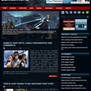 Games World Blogger Template