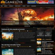 GamesDir Blogger Templates