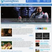 GamingNews Blogger Templates