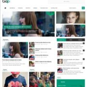 Gaps Responsive Blogger Templates