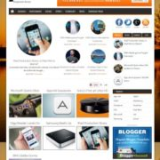 GearCrowd Responsive Blogger Templates