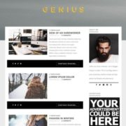 Genius Blogger Templates