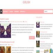 Girlish Blogger Templates