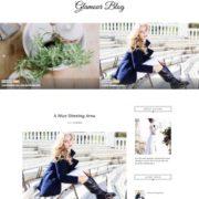 Glamour Blogger Templates