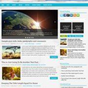 Global Responsive Blogger Templates