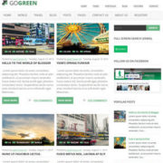 GoGreen Blogger Templates