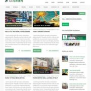 GoGreen Blogger Templates