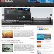 GoTech Blogger Templates