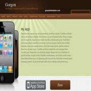 Gorgon blogger template