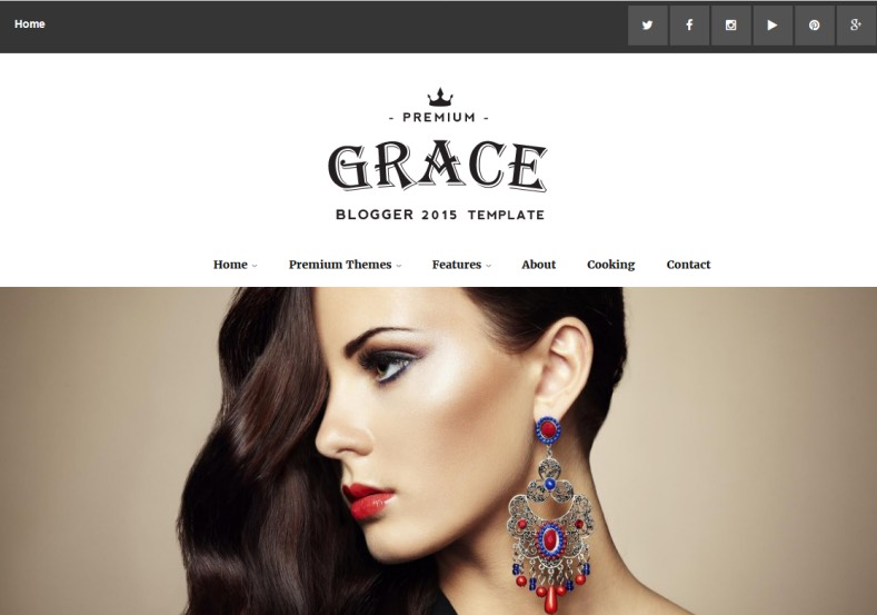 Grace Fancy Blogger Template. Blogger Themes. Free Blogspot templates for your blogger blog. Best suitable for news blog templates. Ads ready blogspot templates help for add adsense ad code and easily showing adsence ads in your blog. Adapted from WordPress templates are converted from WordPress themes. It is help for take your rich. Blogger magazine template specially designed for magazine blogs. The writers can utilize this themes for take blog attractive to users. Elegant themes are more used themes in most of the blogs. Minimalist blog templates. Free premium blogger themes means, themes authors release two types of themes. One is premium another one is free. Premium templates given for cost but free themes given for no cost. You no need pay From California, USA. $10 USD, or $20 USD and more. But premium buyers get more facilities from authors But free buyers. If you run game or other animation oriented blogs, and you can try with Anime blog templates. Today the world is fashion world. So girls involve to the criteria for make their life fashionable. So we provide fashion blogger themes for make your fashionable. News is most important concept of the world. Download news blogger templates for publishing online news. You can make your blog as online shopping store. Get Online shopping store blogger template to sell your product. Navigation is most important to users find correct place. Download drop down menu, page navigation menu, breadcrumb navigation menu and vertical dropdown menu blogspot themes for free. Google Guide. Blogging tips and Tricks for bloggers. Google bloggers can get blogspot trick and tips for bloggers. Blog templates portfolio professional blogspot themes, You can store your life moments with your blogs with personal pages templates. Video and movie blogs owners get amazing movie blog themes for their blogs. Business templates download. We publish blogger themes for photographers. Photographers easily share photos via photography blog themes.