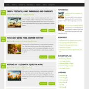 GreenChilli Blogger Templates