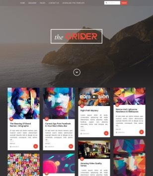 Grider Blogger Templates