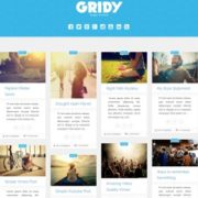Gridy Blogger Templates