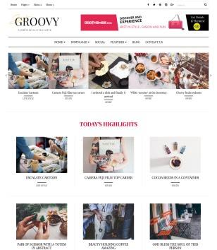 Groovy Blogger Templates