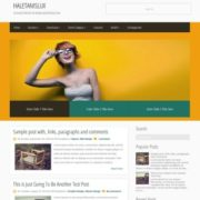 HaletanisLux Responsive Blogger Templates