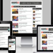Harderly Responsive Blogger Templates