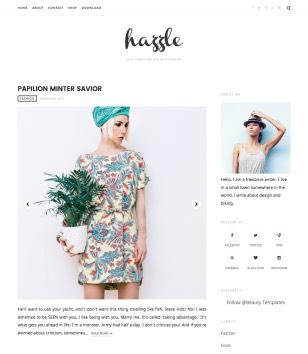 Hazzle Blogger Templates