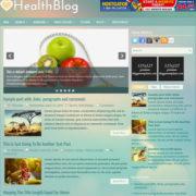 HealthBlog Blogger Templates